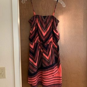 Express dress with removable straps